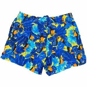 VTG Fila Made in Italy Floral Swim Trunks Shorts